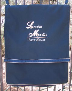 Laurie Martin Stall Bag